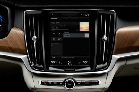 Volvos integrerade Spotify app (Foto: Volvo)