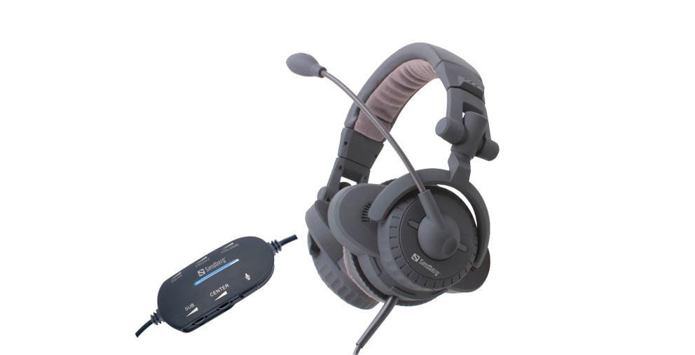 TEST  Sandberg USB Surround Headset  9966fa64cde81