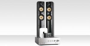 3 stereoanläggningar med streaming