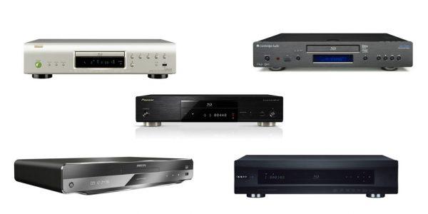 5 Blu-ray-spelare med 3D
