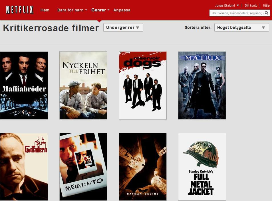 Vad Är Bäst På Netflix