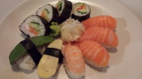 Samsung Galaxy S4 sushi
