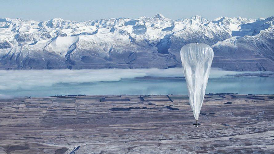 Ballonger ska ge hela världen internet