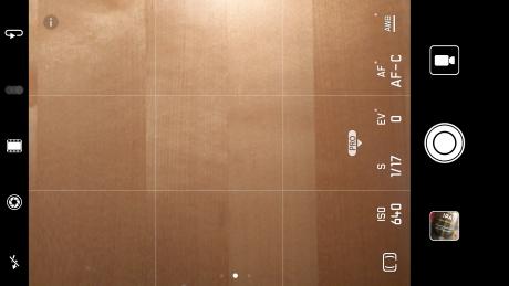 Kameragränssnitt (Foto: Ljud & Bild)