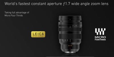 Ljusstark 10–25 mm-vidvinkelzoom