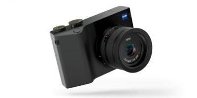 Zeiss-kamera med Photoshop