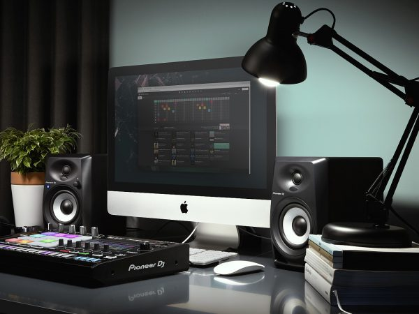Pioneer DJ DM-40BT