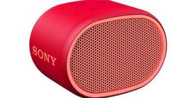 Kompakt och festlig högtalare från Sony