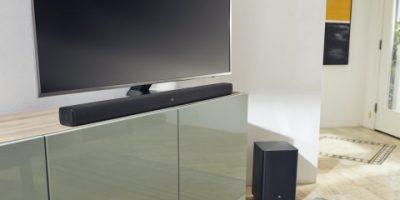 6 soundbar-högtalare