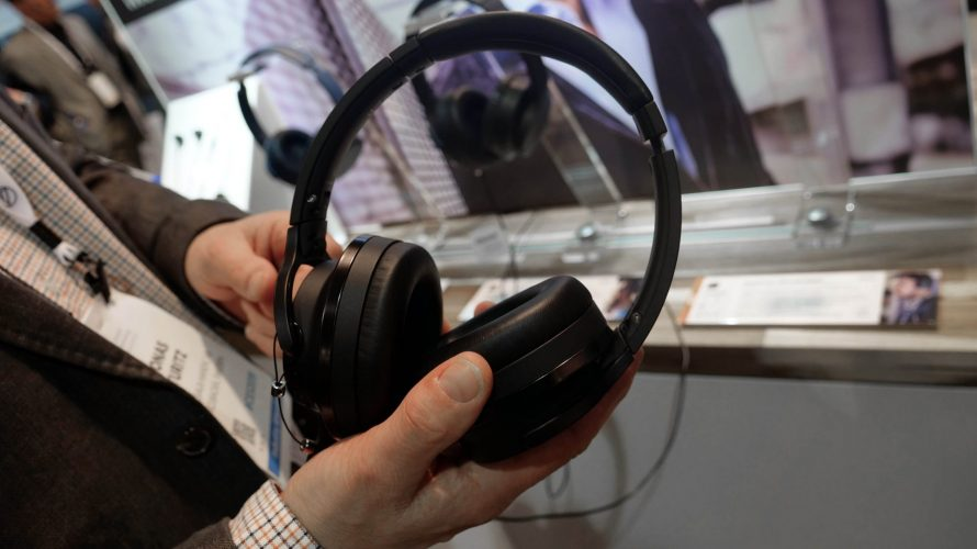 CES 2019: Brusreducerande toppmodell från Audio-Technica