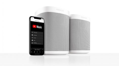 Sonos stöder YouTube Music