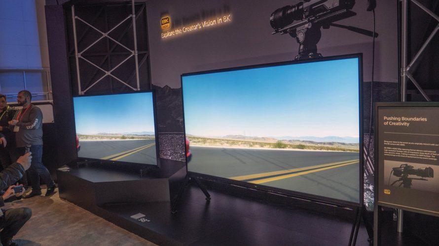 CES 2019: 98-tums 8K-TV från Sony