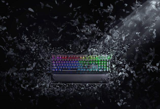 Razer Black Widow är fortfarande det svartaste och stiligaste tangentbordet. Foto: Razer