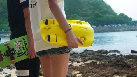 Dyk med drönare