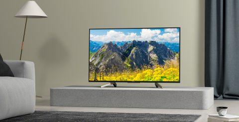 Seks 55-tums 4K med HDR-videokvalitet