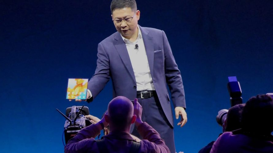 MWC 2019: Huawei lanserar överlägsen vikbar mobil