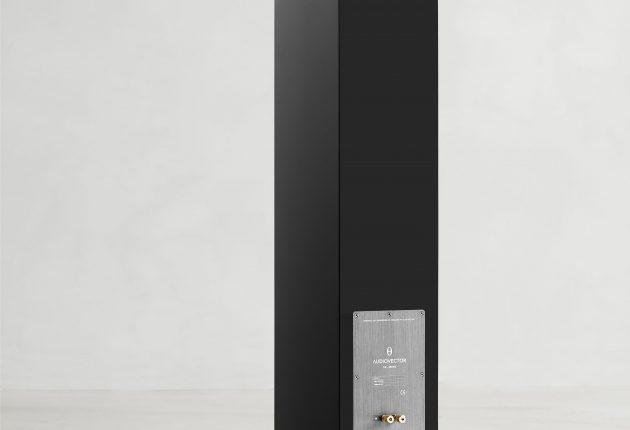 En ren och prydlig baksida. Foto: Audiovector