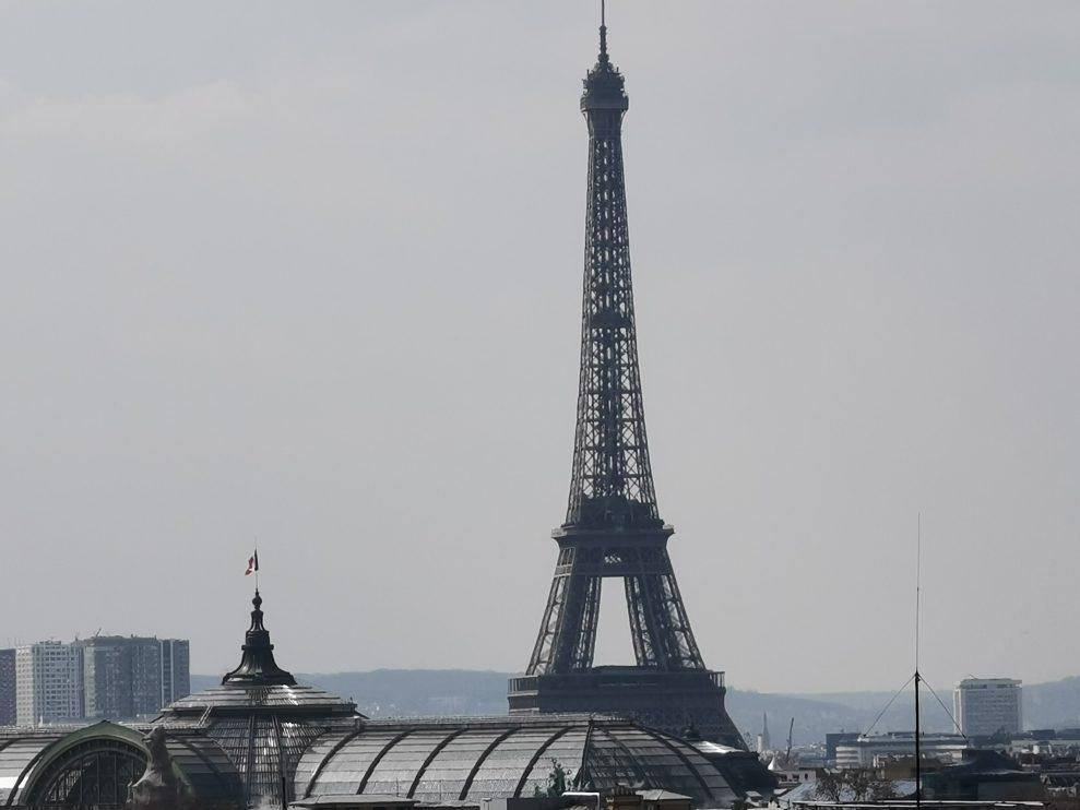 Eiffeltornet - 10x hybridzoom
