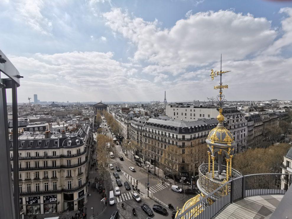 Eiffeltornet - Ultra wide