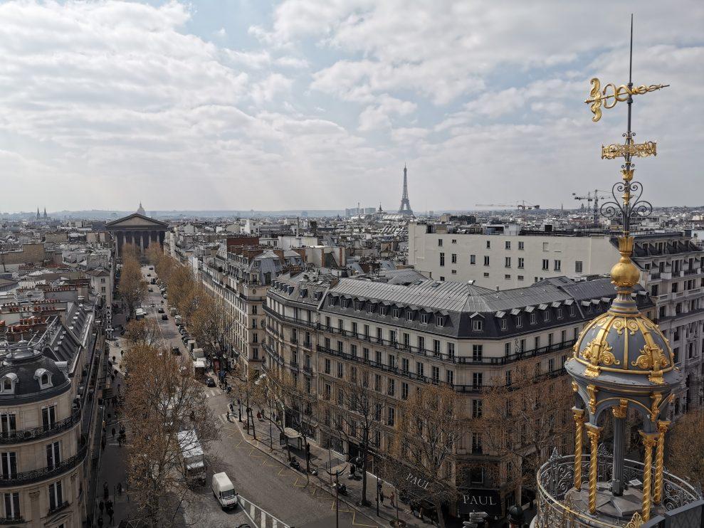 Eiffeltornet - Wide