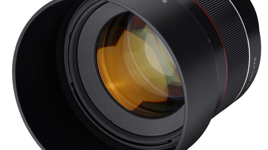 Ljusstarkt porträttobjektiv till Sony alpha
