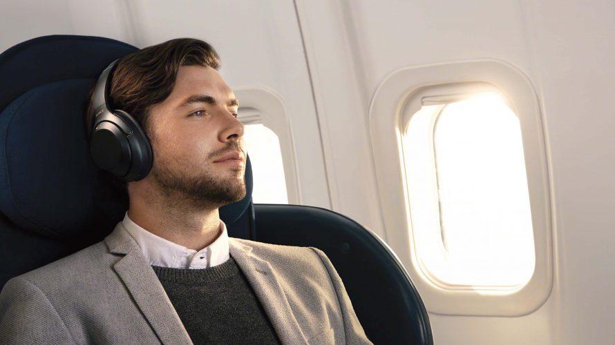 5 trådlösa brusreducerande hörlurar