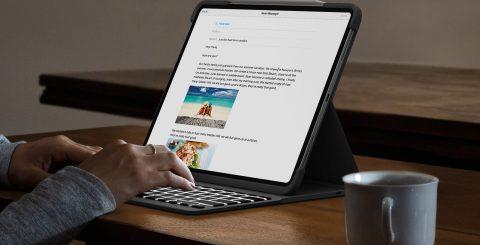 Laptop-känsla med iPad Pro