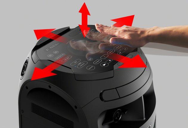 Efter ett par drinkar kan någon leka DJ bara genom att vifta med händerna för att ändra volymen och styra effekter.  (Foto: Tillverkare)
