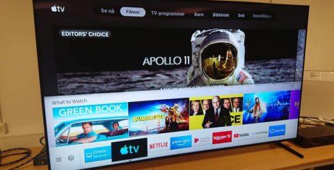 Nu finns Apples nya TV-app i Sverige