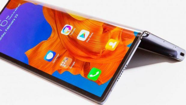 Huawei skjuter upp sin vikbara 5G-mobil