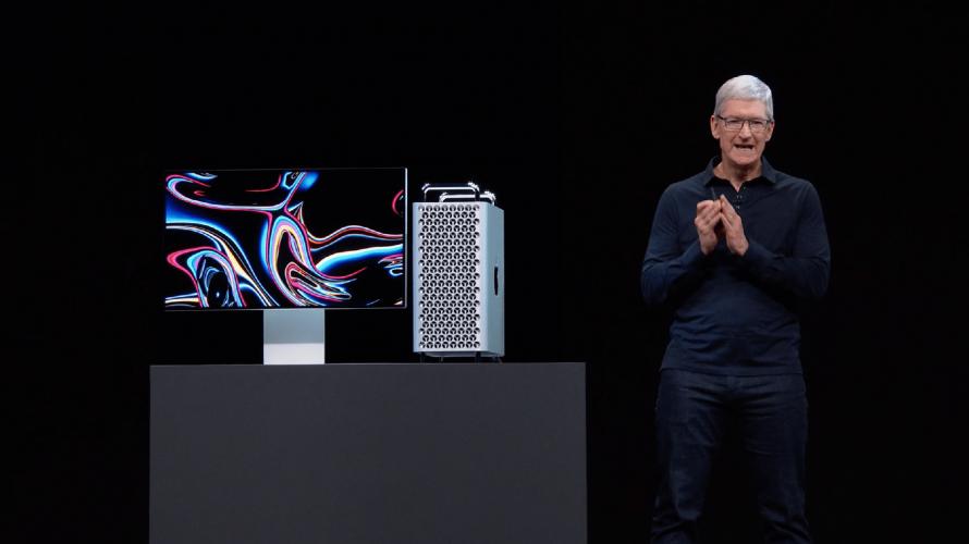 6K-skärm och brutal Mac Pro