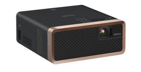 Kompakt laserprojektor för film och spel