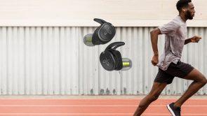 6 helt trådlösa öronproppar