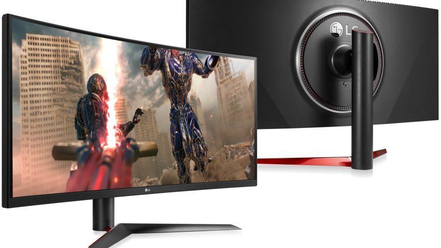 Supersnabba spelskärmar från LG