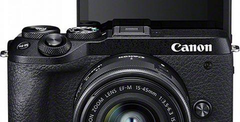 Canon EOS M6 II knäpper 30 bps!