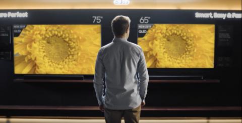 Samsung: Välj 75 tum, annars ångrar du dig!