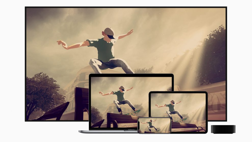Nu är Apple spel- och streaming-leverantör