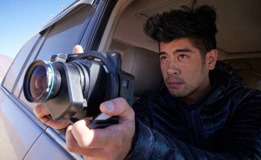 Mellanformat för fotografer på språng
