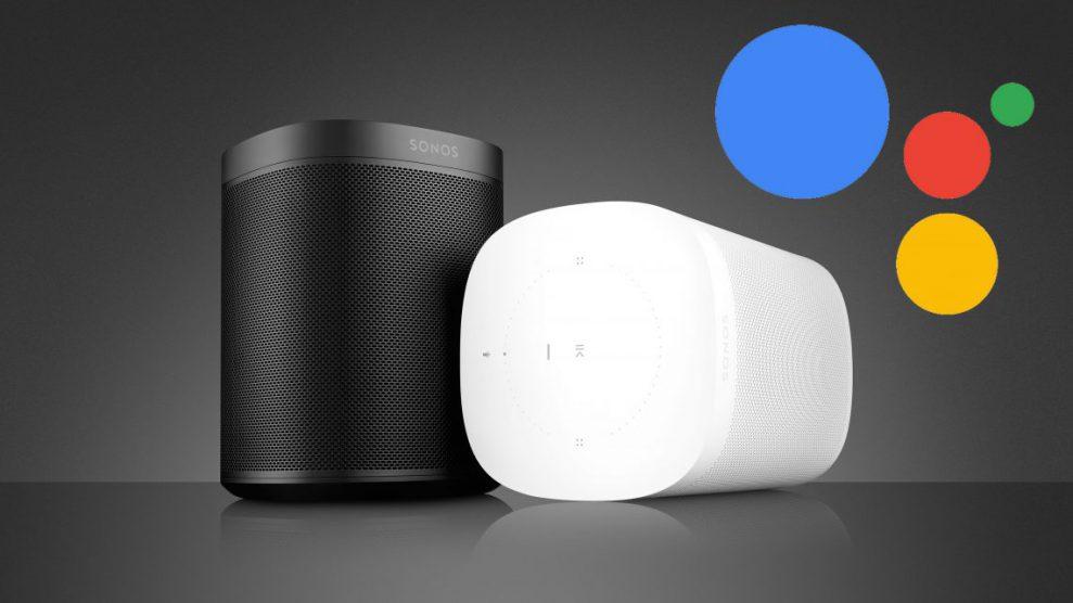 Google Assistant har kommit till Sonos