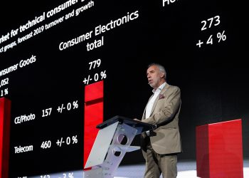 IFA Global Press Conference 2019 - IFA Press Conference - Hans-Joachim Kamp, Chairman of the supervisory board gfu Consumer & Home Electronics