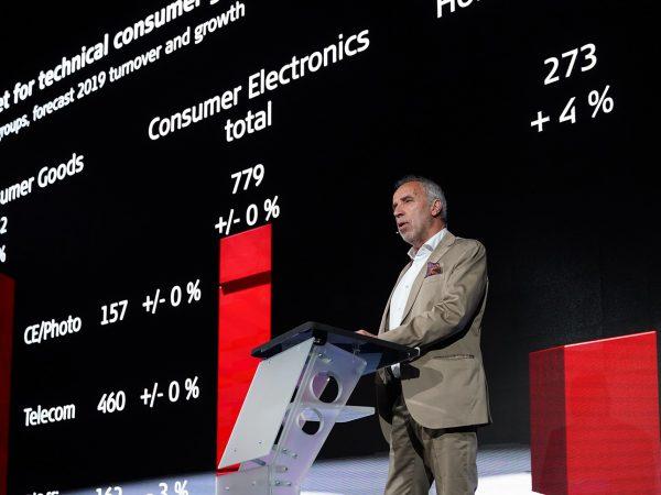 IFA 2019: Rekordomsättning för elektronik