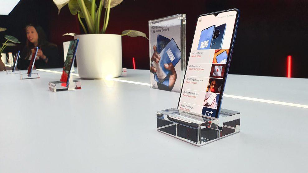 Tre modeller i ny 7T-serie från OnePlus