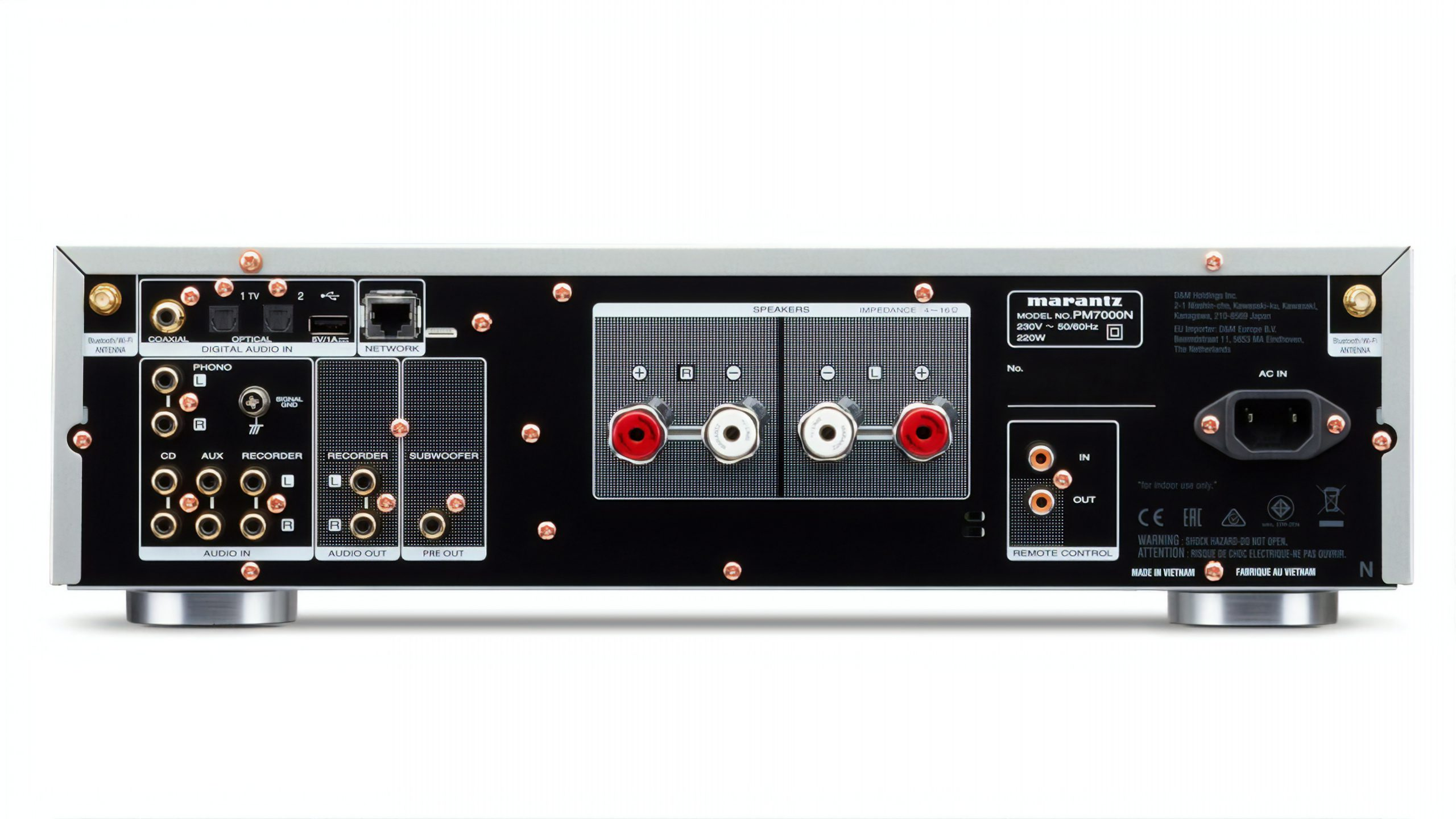 Marantz pm7000n rear