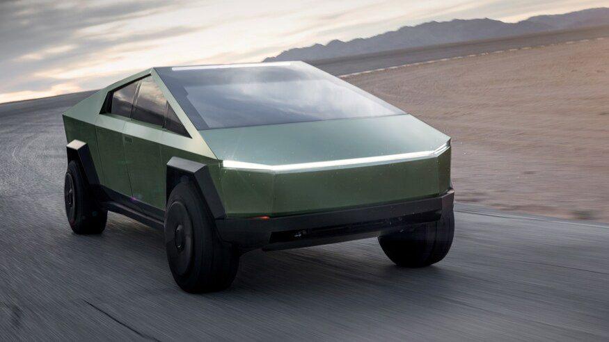 Tesla Cybertruck kommer bara i en färg: rostfritt stål