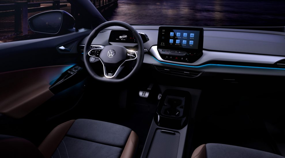 VW ID4 interior front