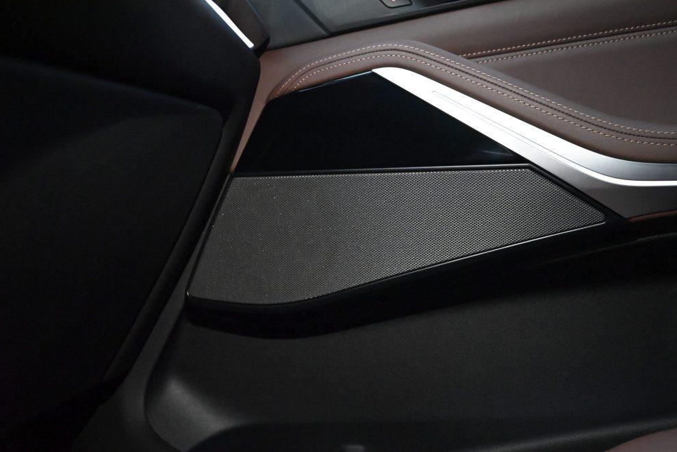 BMW X5 Harman speaker