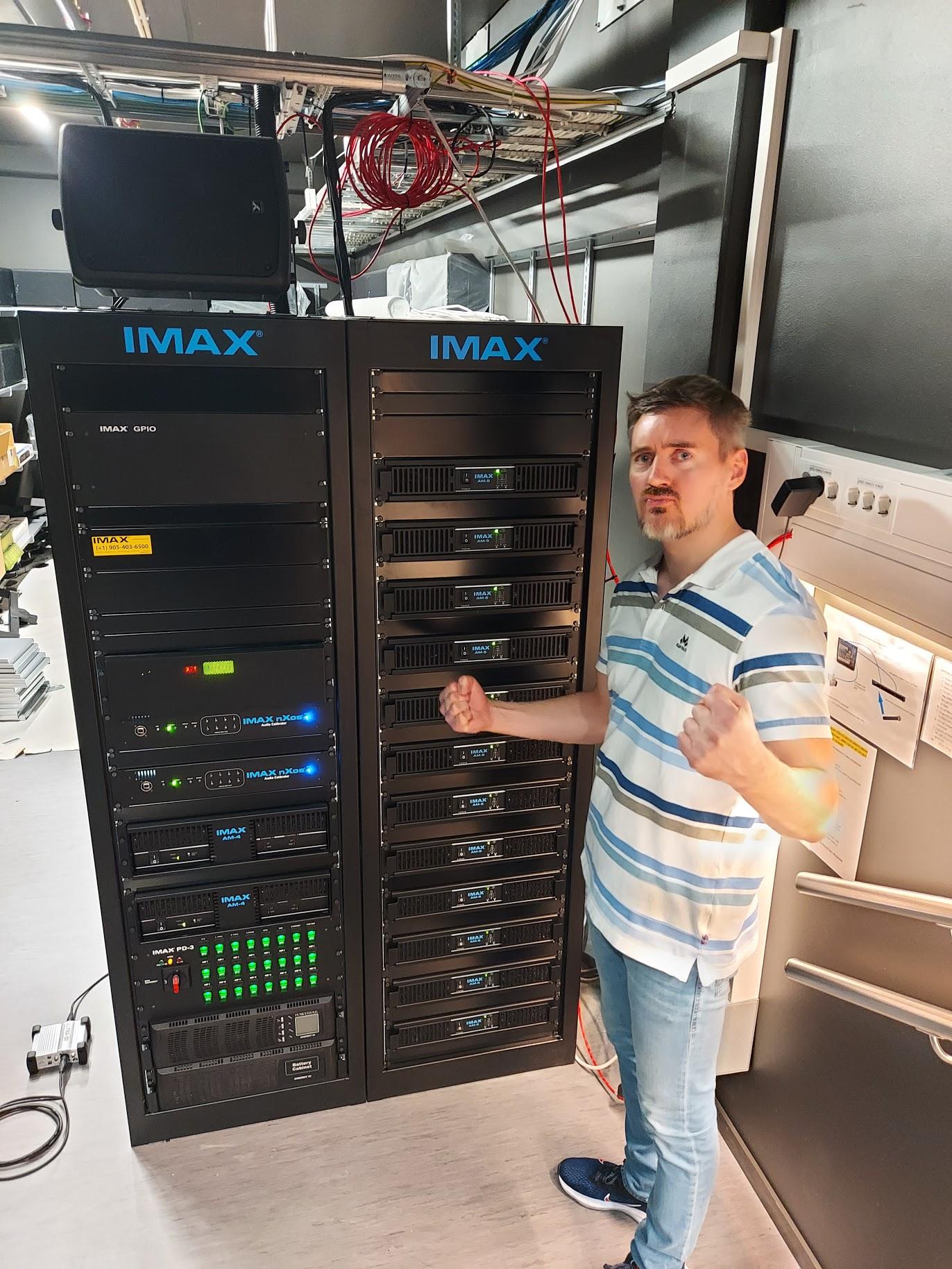 IMAX forsterkerrigg
