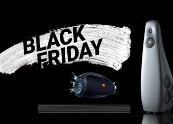 Black Friday høyttalere lydplanker