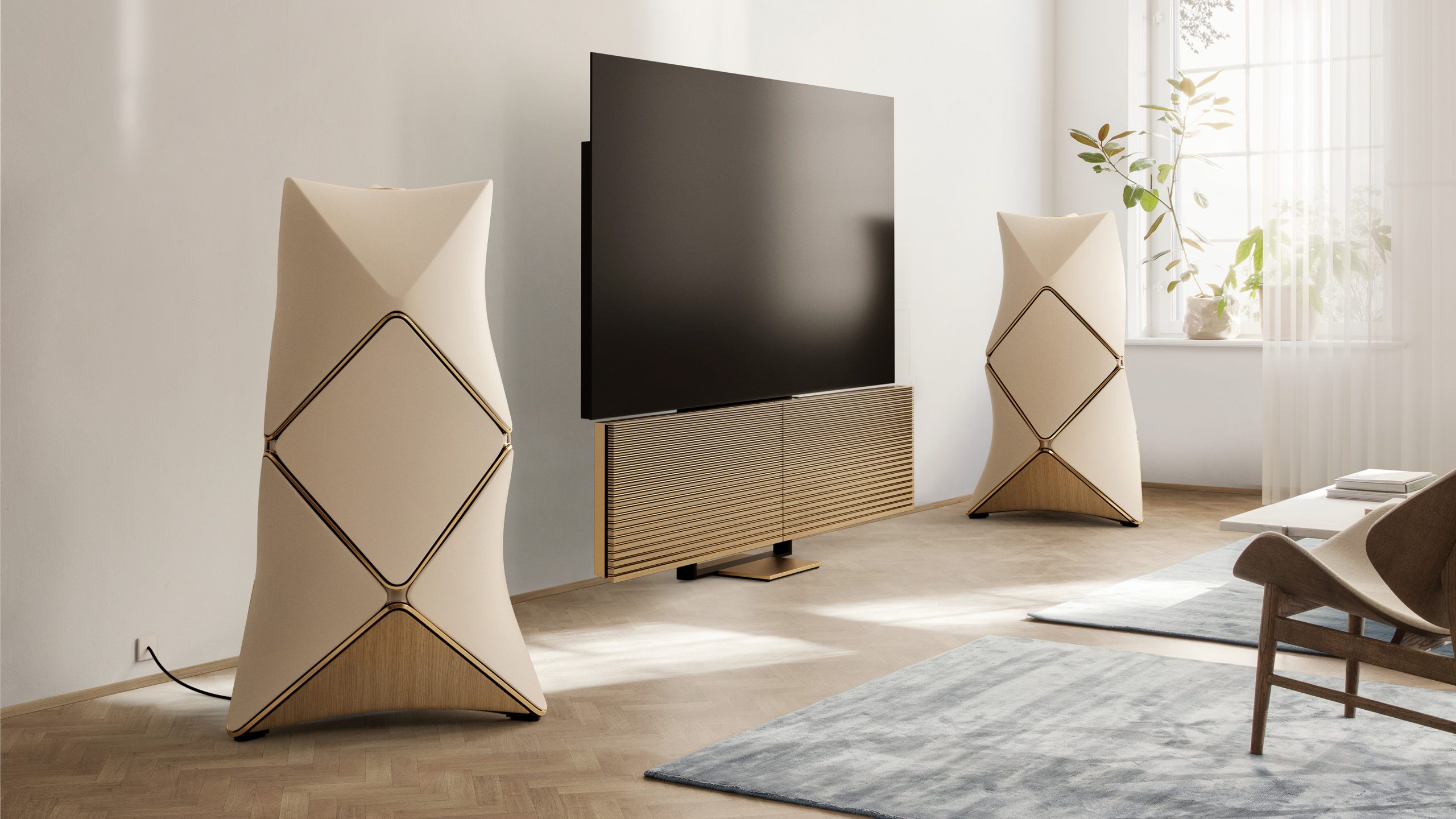 B&O Beovision Harmony & Beolab 90 Golden Collection