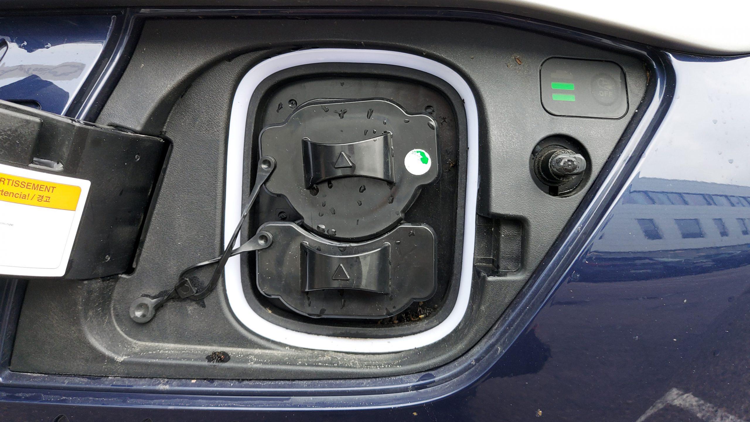 Hyundai Kona charging connector